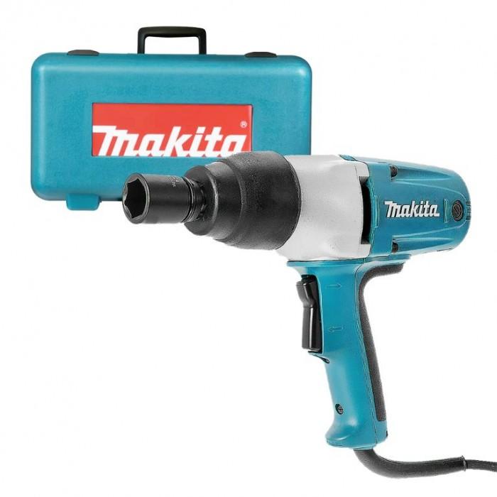 "Гайковерт електрически ударен 400 W, 350 Nm, 1/2"", Makita TW0350"