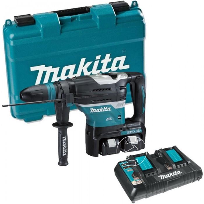 Перфоратор SDS-plus акумулаторен Makita DHR400PT2U2