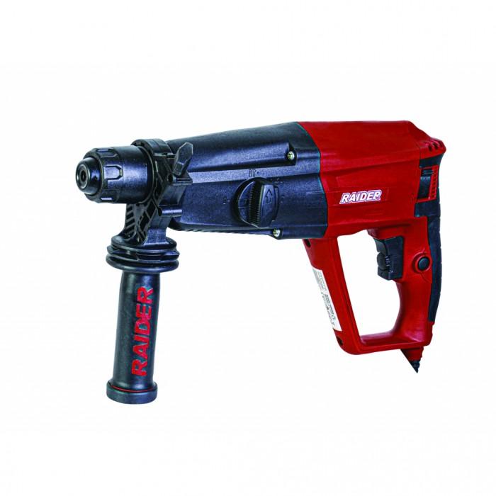 Перфоратор 1050W 30mm 4 функции регулиране на оборотите Raider RD-HD51