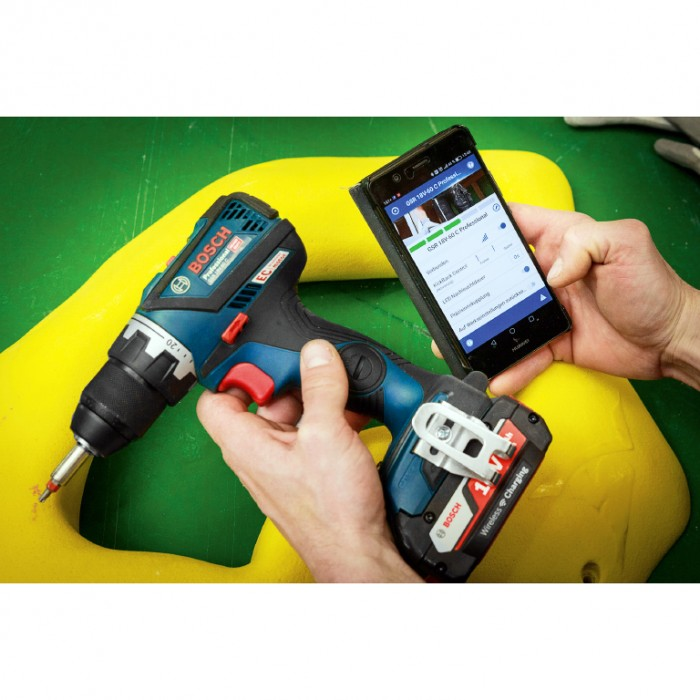 Винтоверт акумулаторен безчетков 18 V, 60 Nm, 1.5-13 мм, Bosch GSR 18V-60 C Solo