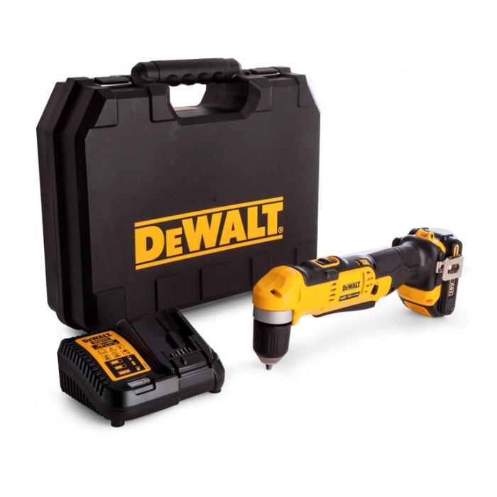 Винтоверт акумулаторен ъглов 20 V, 1.5 Ah, 33 Nm, 1-10 мм, DeWALT DCD740C1