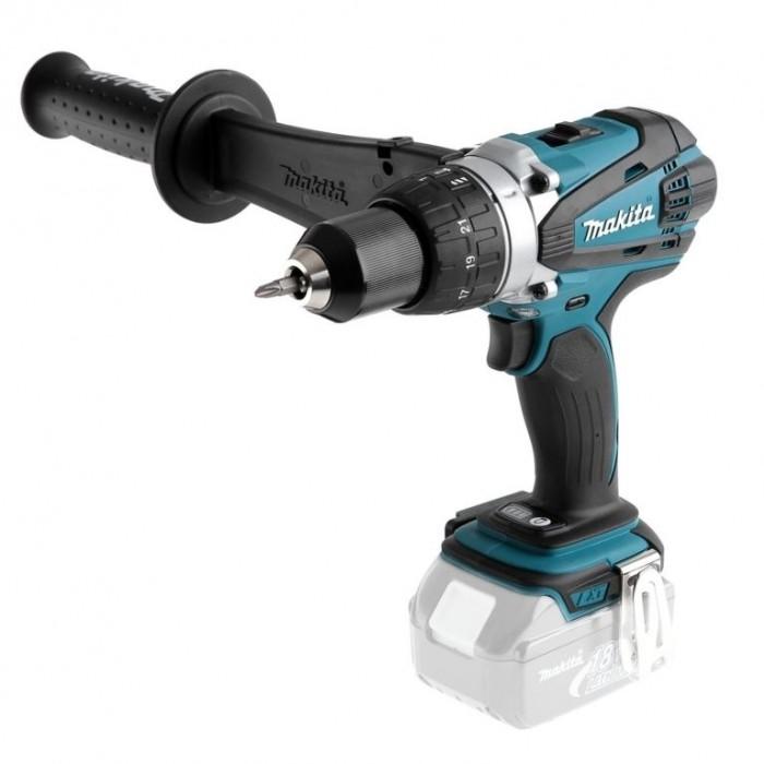 Винтоверт акумулаторен 2-скоростен 18 V, 91 Nm, 1.5-13 мм Makita DDF458Z