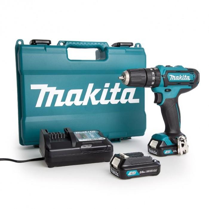 Винтоверт акумулаторен 2-скоростен 10.8 V, 2 Ah, 30 Nm, 0.8-10 мм, Makita DF331DWAX6