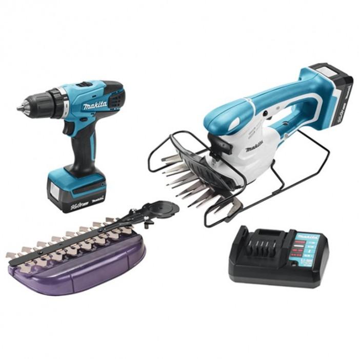 Комплект акумулаторни инструменти Makita DK14004X1