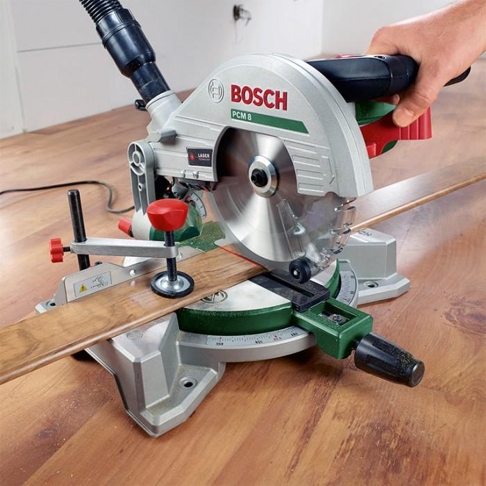 Циркуляр настолен електрически с герунг ф 216 мм, 1200 W, 4800 об./мин, Bosch PCM 8
