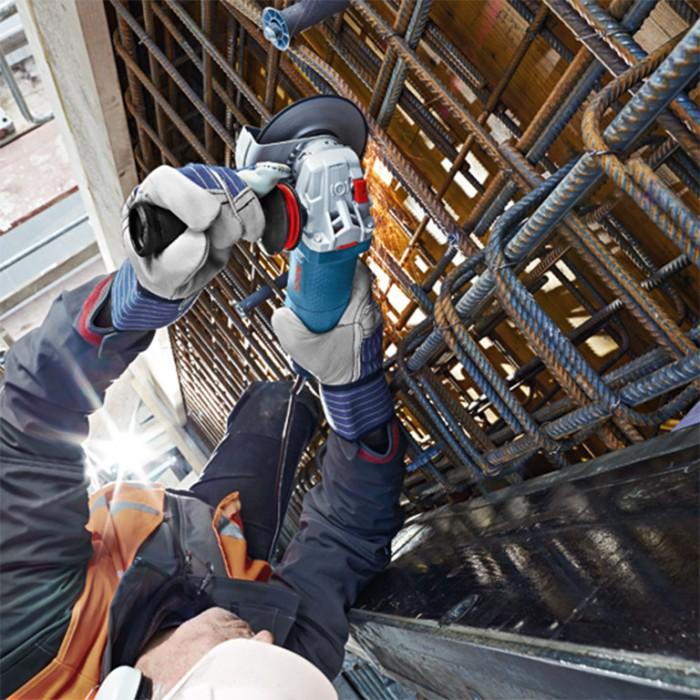 Ъглошлайф електрически с регулиране на оборотите и плавен старт 1500 W, 125 мм, 2800-11 000 об./мин, Bosch GWS 15-125 CIEP