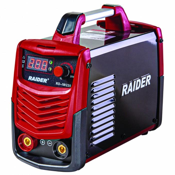Инверторен електрожен 200A Raider RD-IW220