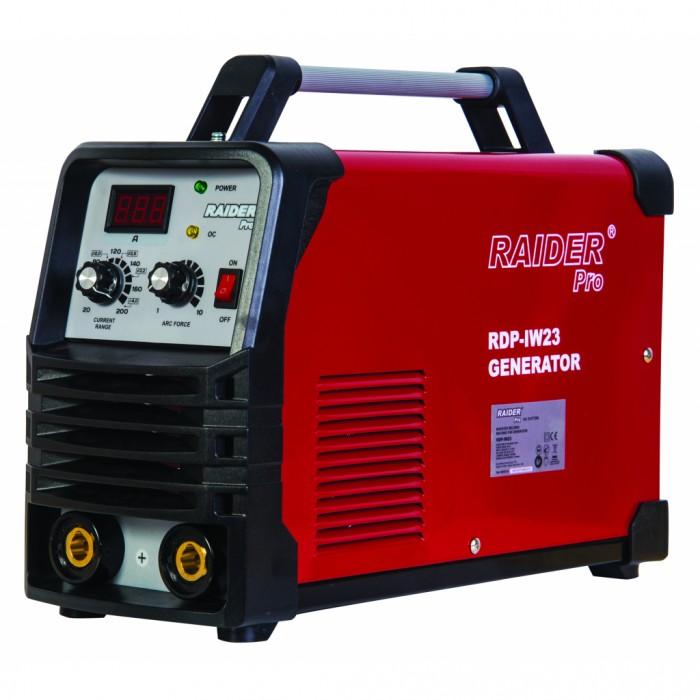 Електрожен инверторен 200A за генератор Raider RDP-IW23
