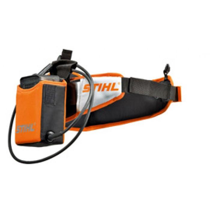 Колан за акумулаторни батерии с чантичка STIHL, кабел и адаптер