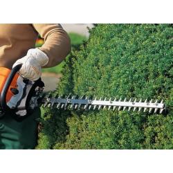 STIHL HS 82 T, 75 cм Ножица за жив плет с двустранно режещ нож във вариант за подравняване и оформяне, пригодена да издържа на професионални натоварвания