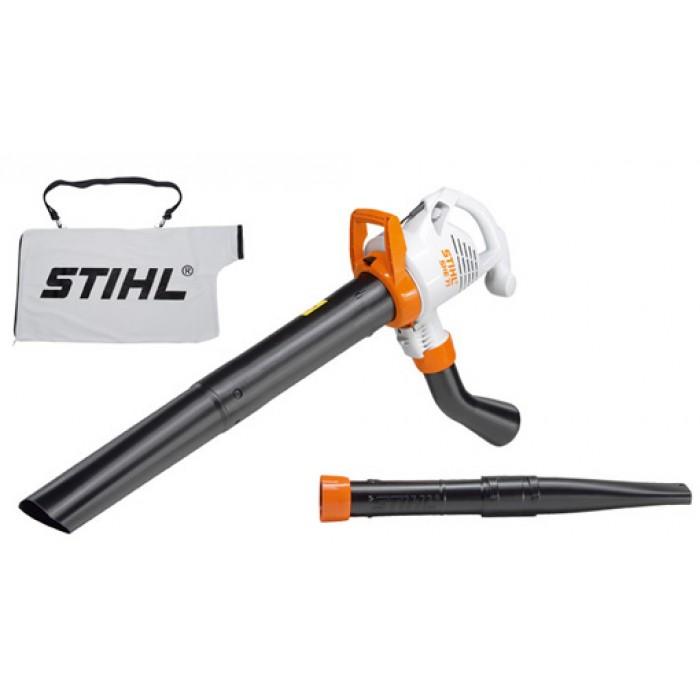 Електрически уред за засмукване и раздробяване с тих режим на работа STIHL SHE 71