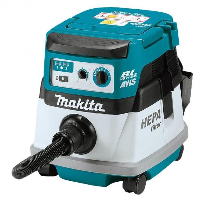 Акумулаторна прахосмукачка за сухо почистване 90 W, 36 V, 2100 л/мин, Makita DVC864LZ