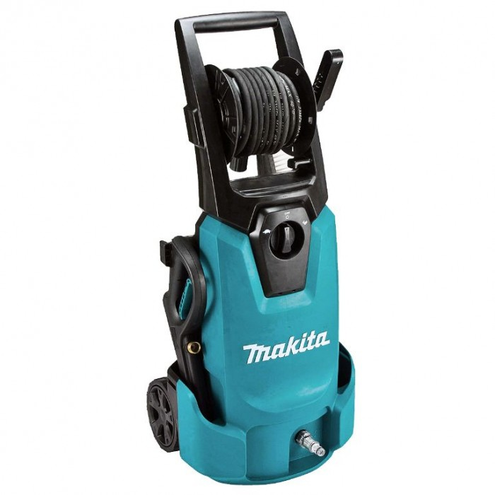 Водоструйка електрическа 1800 W, 130 bar, 450 л/ч, Makita HW1300