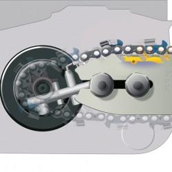 STIHL MS 180 C-BE Лек, комфортен бензинов трион (1,4 kW) с ErgoStart и устройство за бързо опъване на веригата