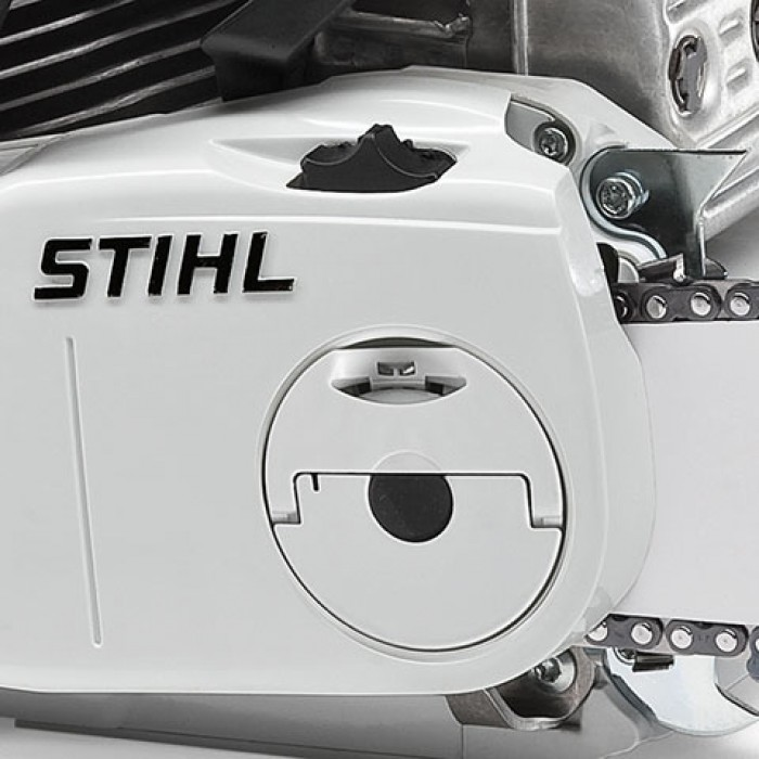 Бензинов трион (2,0 kW) с устройство за бързо опъване на веригата и ErgoStart STIHL MS 231 C-BE